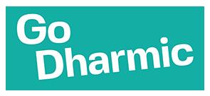GO Dharmic logo green